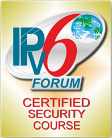 Certified Security Course IPv6 Forum